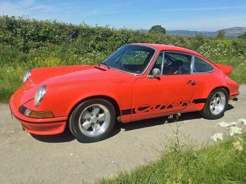 972 porsche 911 RS evocation