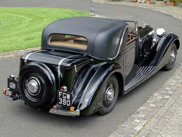 1938 Bentley 4 ¼ Litre Overdrive Sedanca De Ville