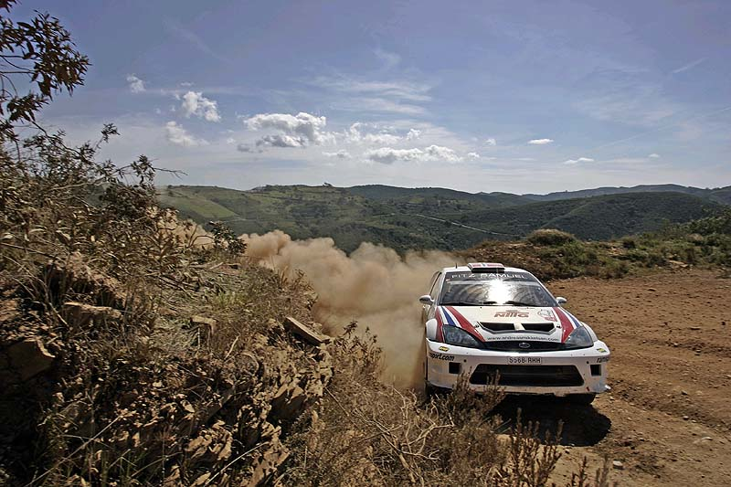 Andreas Mikkelsen flat out in Cyprus