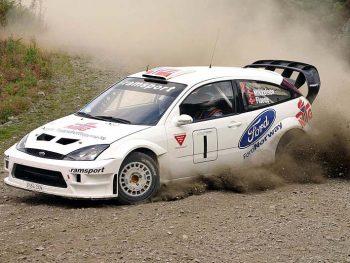 rally car ford focus
