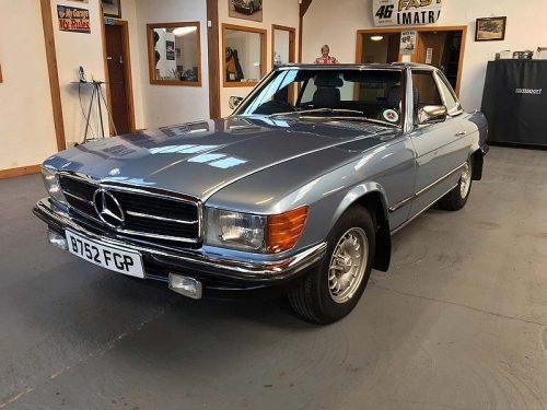 1985 Mercedes 280SL Pagod