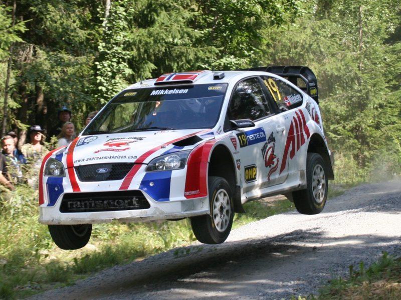 Mikkelsen flying high in the Ramsport car